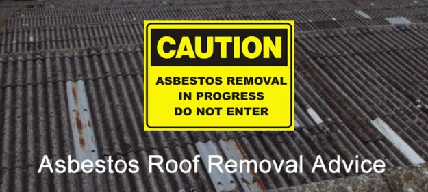 asbestos roof removal advice