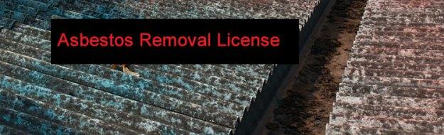 Asbestos Removal License
